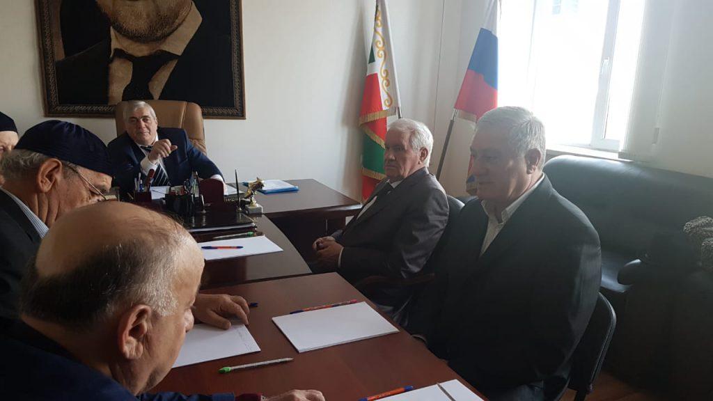 ЧЕЧНЯ.  В Грозном прошло заседание Консультативного Совета при Главе ЧР. (Фоторепортаж)
